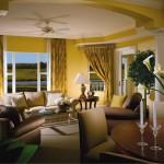 The Villa's View as you enter