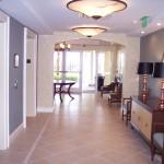 The Villa's lobby