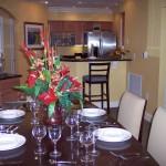 The Villa's Dinning/Kitchen
